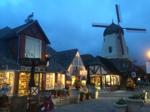 Solvang is looking rather festive