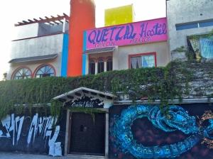 The legendary Quetzal Hostel