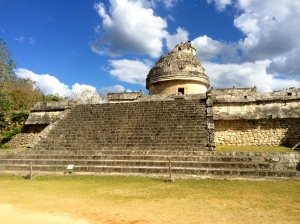 The Observatory where the Mayans observed the heavens and created their infamous calendar.
