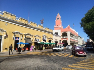 Merida main square
