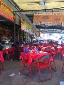 Lunch in the market