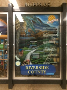 Riverside County's exhibit in the capitol