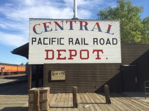 The railroad ended here!