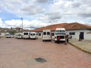 Villa de Leyva bus terminal