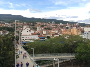 The town of San Gil