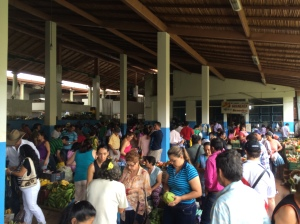 The busy San Gil market