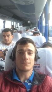 On the bus to Cartagena!