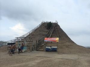 The underwhelming mud volcano