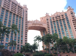 The Bridge Suite at Atlantis- rumored to be the world's most expensive hotel room.