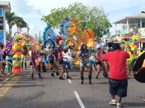 Junkanoo-themed music video