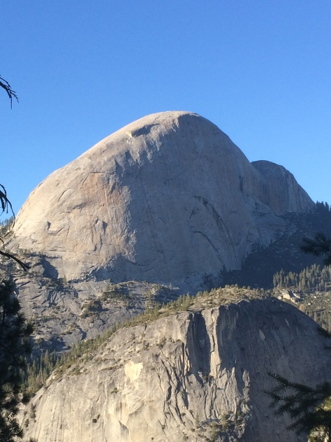 Backside of Half Dome