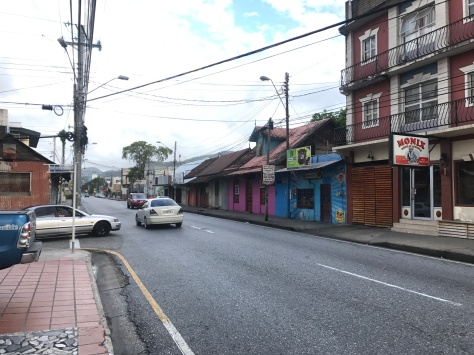 Typical street in Trinidad.