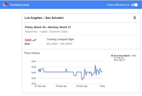 google-flights-tracker